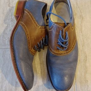 Cole Haan Shoes - Cole Haan Nikeair Saddle Shoes Leather Size 9.5